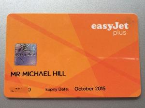my easyJet Plus card