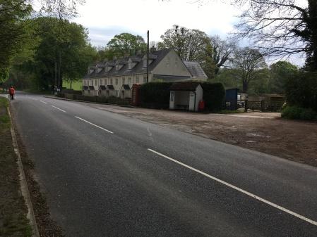 Bus stop at Fox Hill