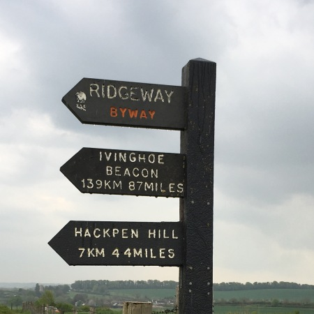 Ivinghoe Beacon - 87 miles