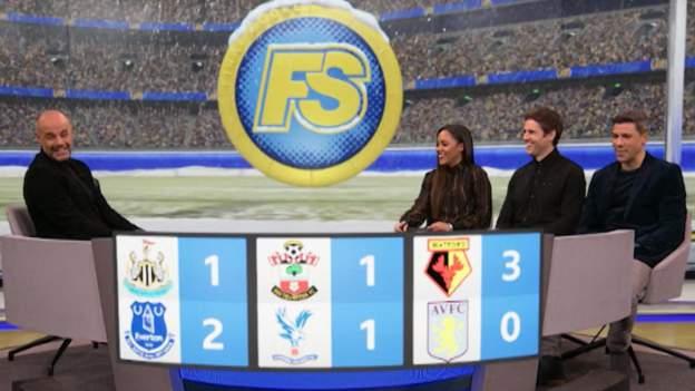 BBC football pundits on Final Score